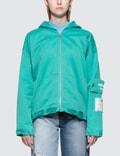MSGM Devore' Solid Color Bull Denim Jacket Picture