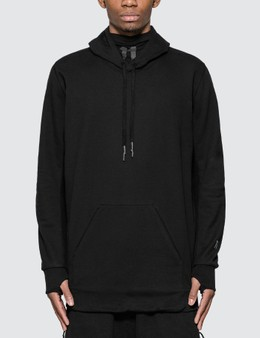 11 By Boris Bidjan Saberi Dye 11 Logo Hoodie With Mask