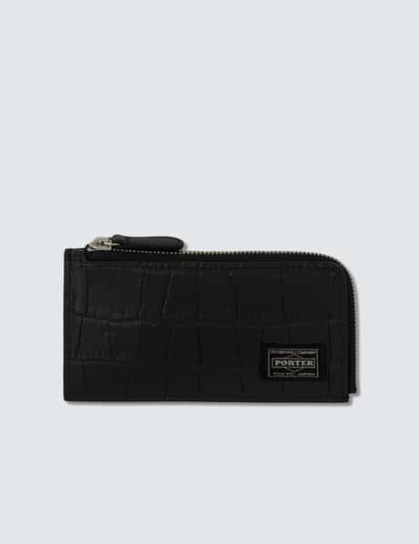 66f13d2cf256 Head Porter · Croco Mini Wallet