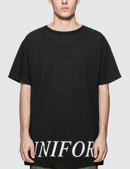 uniform experiment Back Concealed Pocket Big T-shirt
