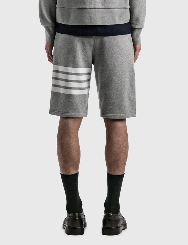Thom Browne Classic Sweat Shorts Light Grey Men