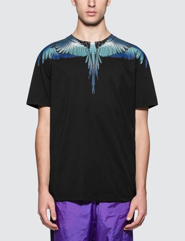 Marcelo Burlon Blue Wings S/S T-Shirt