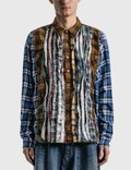 Needles Ribbon Wide Flannel Shirt Picutre