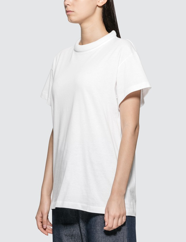 Maison Margiela Padded Collar Cotton T-Shirt