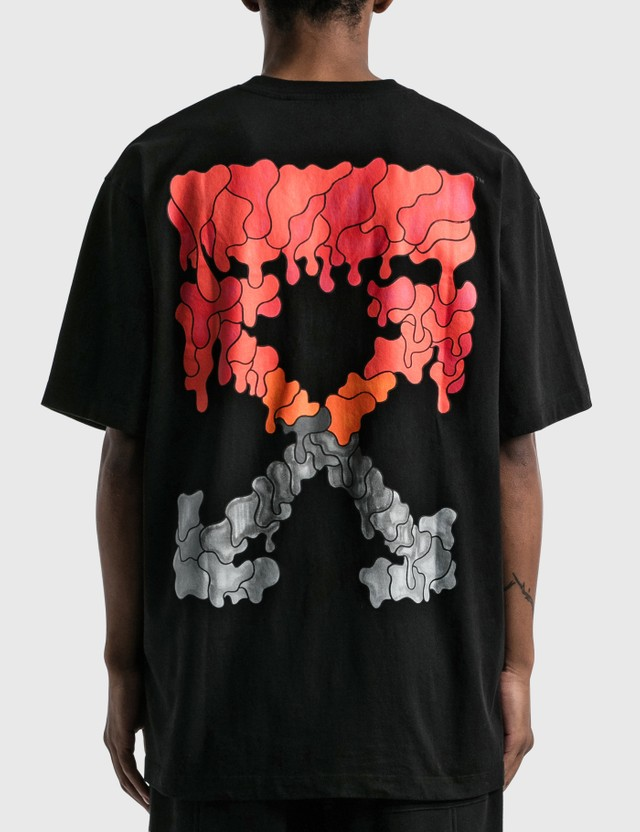 Off-White Red Marker Over T-shirt