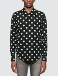 Saint Laurent Polka Dot Western Shirt Picutre
