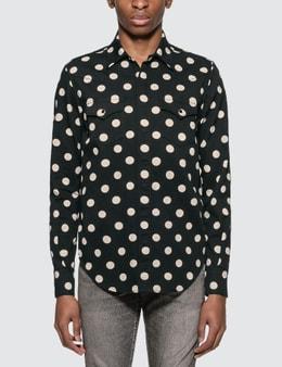Saint Laurent Polka Dot Western Shirt