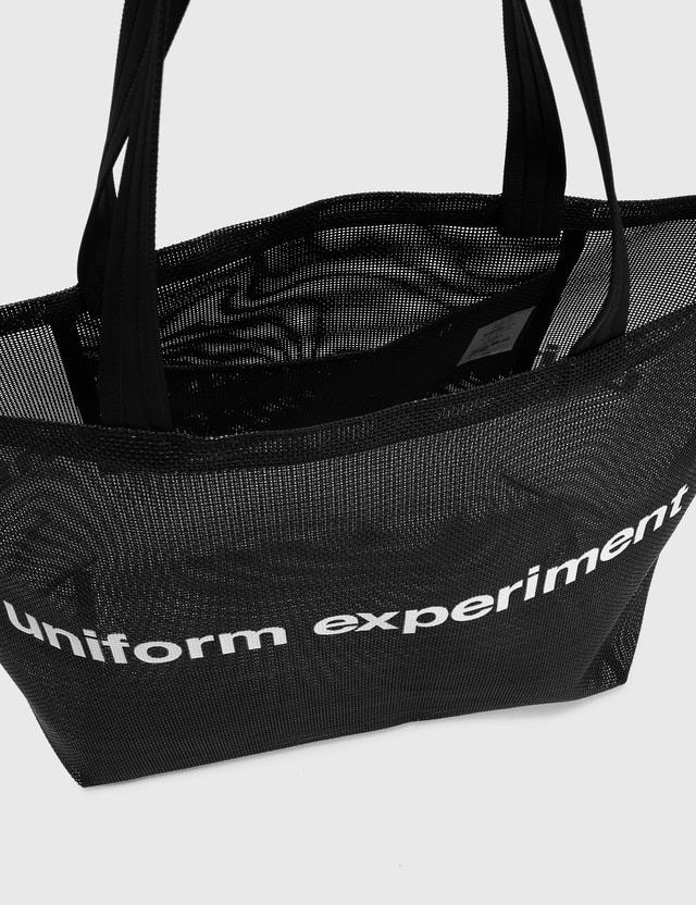 uniform experiment Mesh Tote Bag Black Men