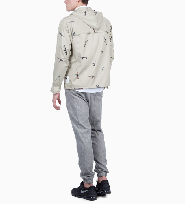 Mark McNairy for Heather Grey Wall Beige AK47 Pullover Jacket