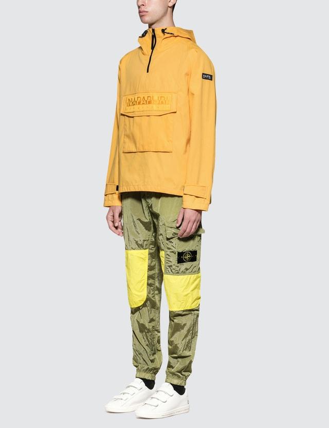 Napapijri Silver Half Zip Pullover Jacket
