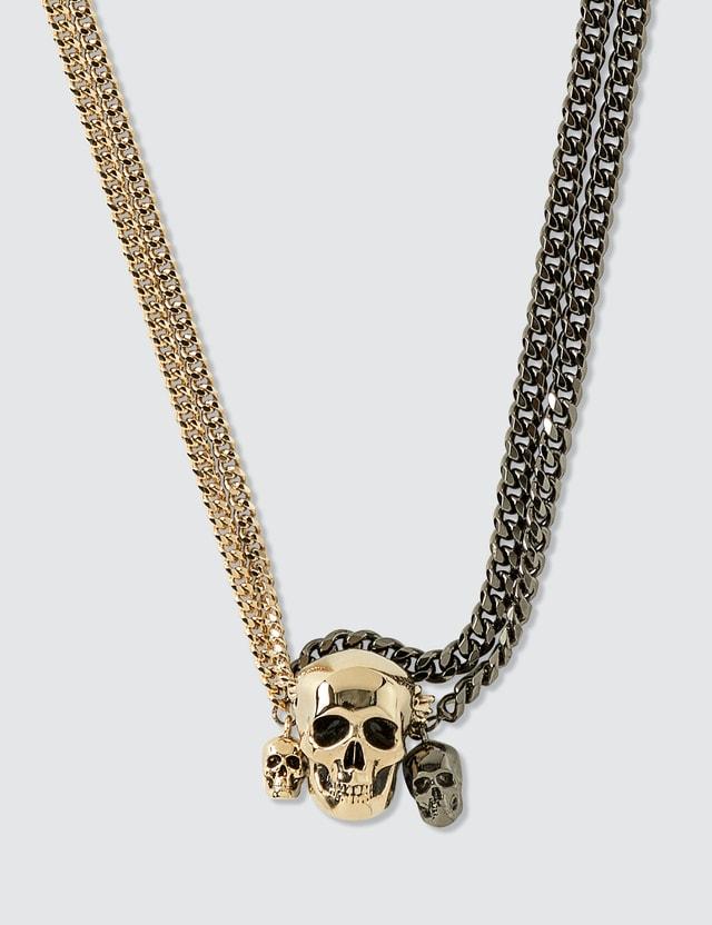 Alexander McQueen Chain Skull Necklace