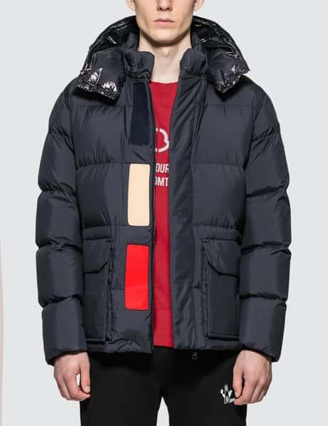 몽클레어 Moncler Nylon Down Jacket with Detachable Hood