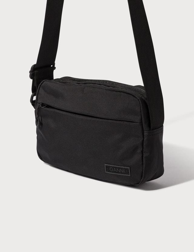 Ganni Recycled Tech Fabric Crossbody Bags