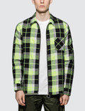 Off-White Diag Zip Check Shirt Picture