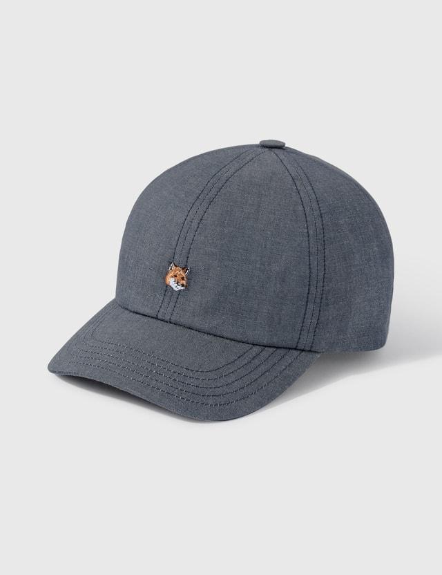 Maison Kitsune Small Fox Head Cap
