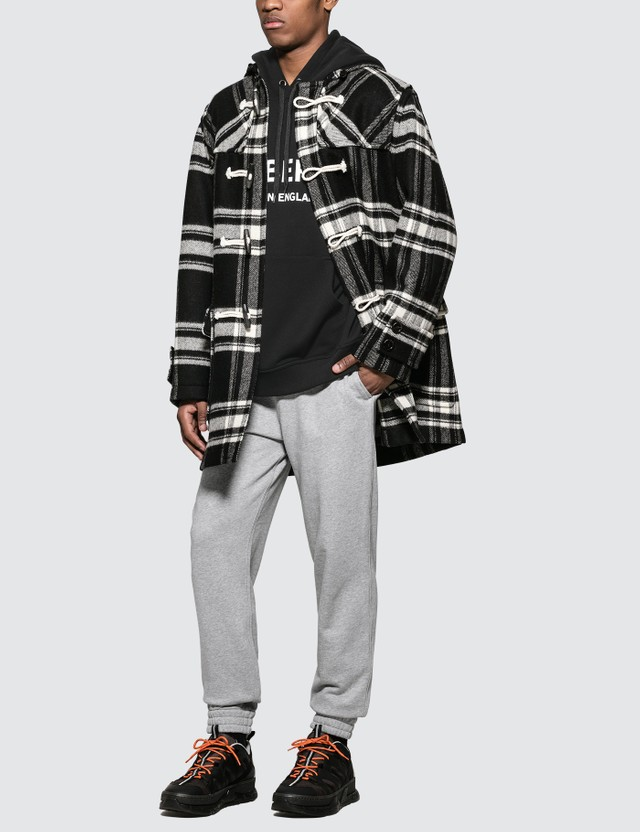 Burberry Logo Print Cotton Sweatpants