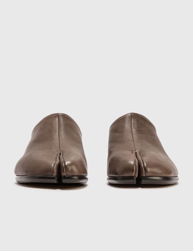 Maison Margiela Slip-on Tabi Shoes Tdm/rcru/green Men