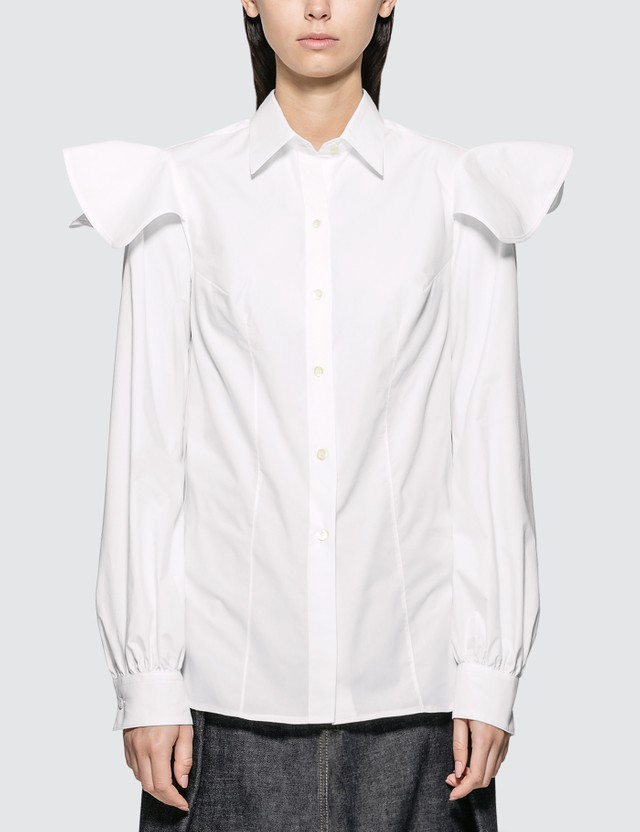 f3b93337723 Cape Sleeve Shirt