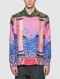 Casablanca Moca Sunset Silk Shirt Picture