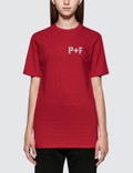Places + Faces P+F Logo Reflective Short Sleeve T-shirt Picture