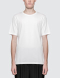 Maison Margiela White Garment Dyed Logo T-Shirt Picture