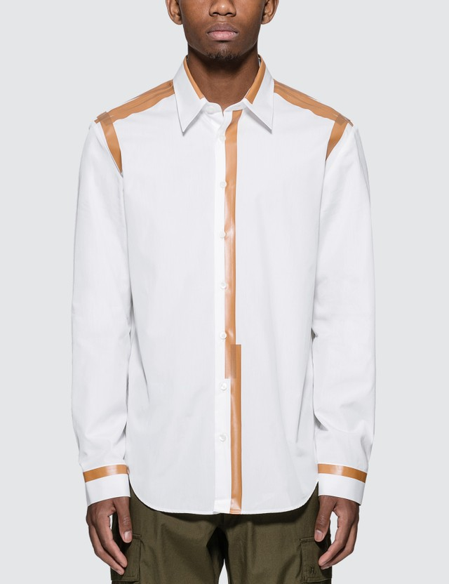 Helmut Lang Taped Poplin Shirt