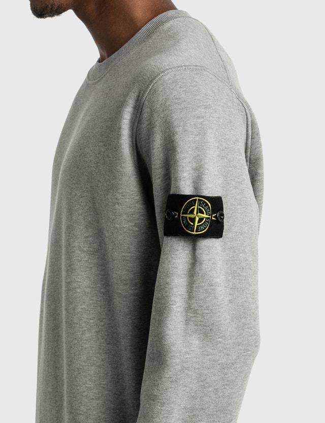 Stone Island Classic Sweatshirt Melange Grey Men