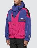 MSGM Colorblock Windbreaker Cyclamen Men