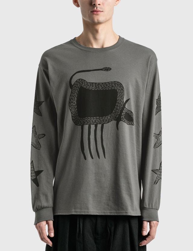 """Sasquatchfabrix. """"Buffalo"""" Long Sleeve T-Shirt =e23 Men"""