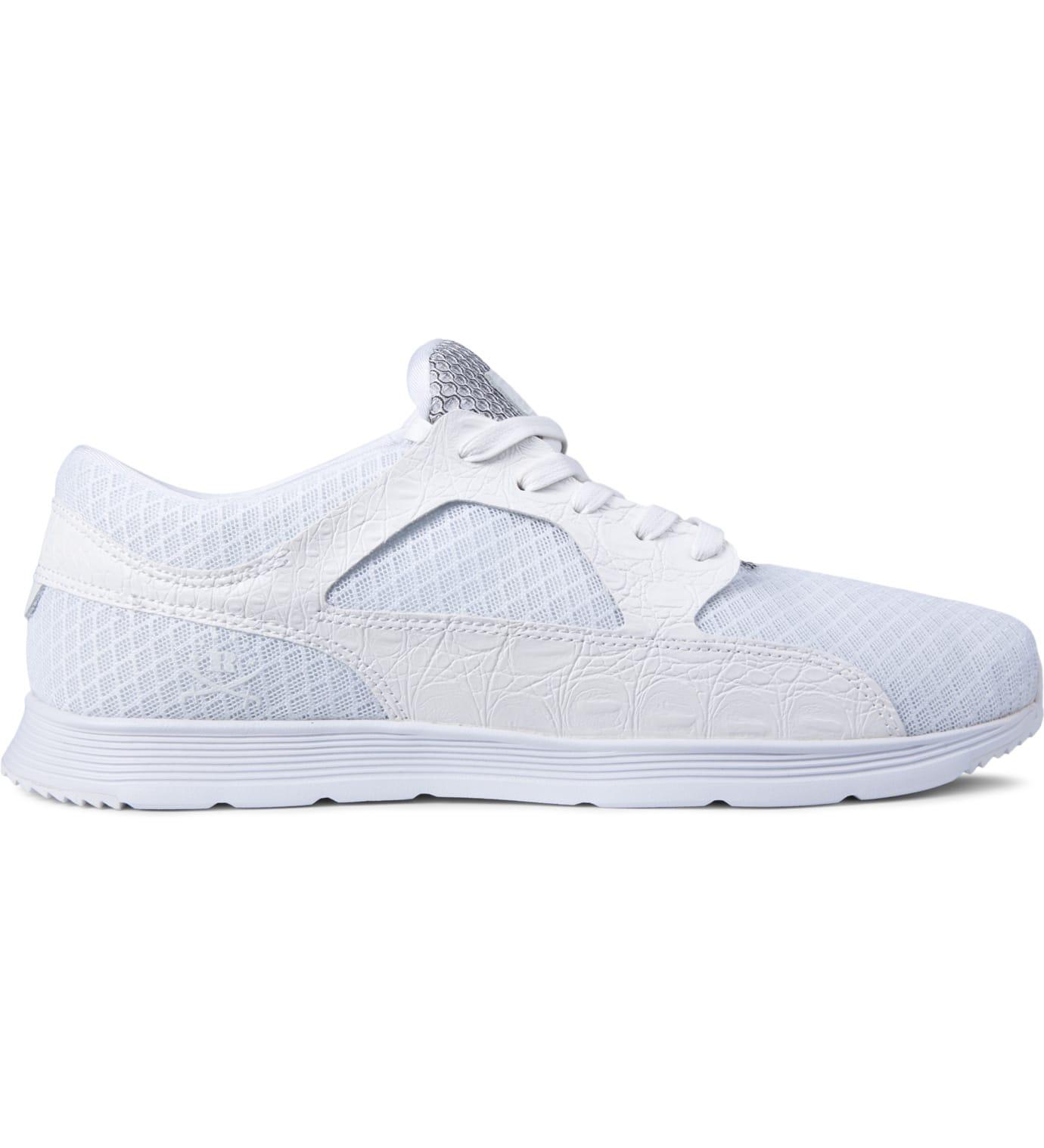 Ransom - White Croc/White Valley Lite Shoes