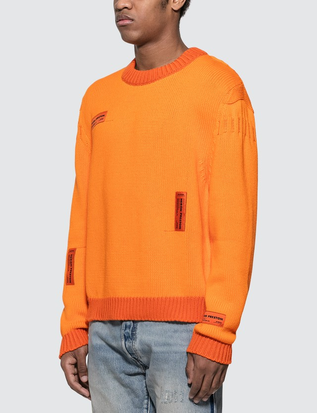 Heron Preston Crazy Label Sweatshirt