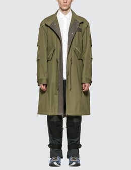 Sacai Cotton Mods Coat