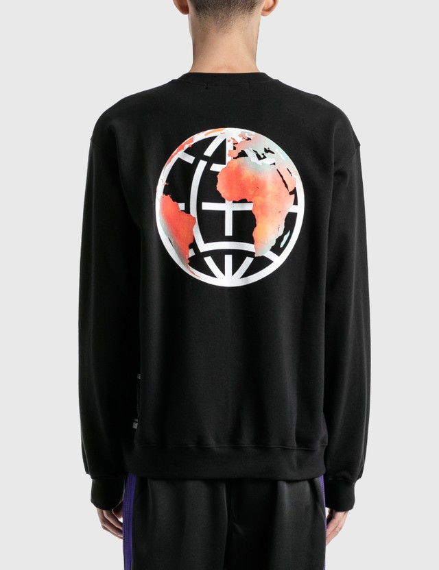 LMC Earth 로고 스웨트셔츠 Black Men