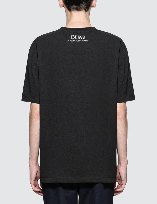 CALVIN KLEIN JEANS EST.1978 OK Logo Print S/S T-Shirt