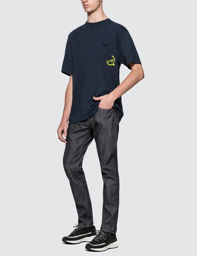 Denim By Vanquish & Fragment Rigid Regular Straight Denim Jeans (19SS)