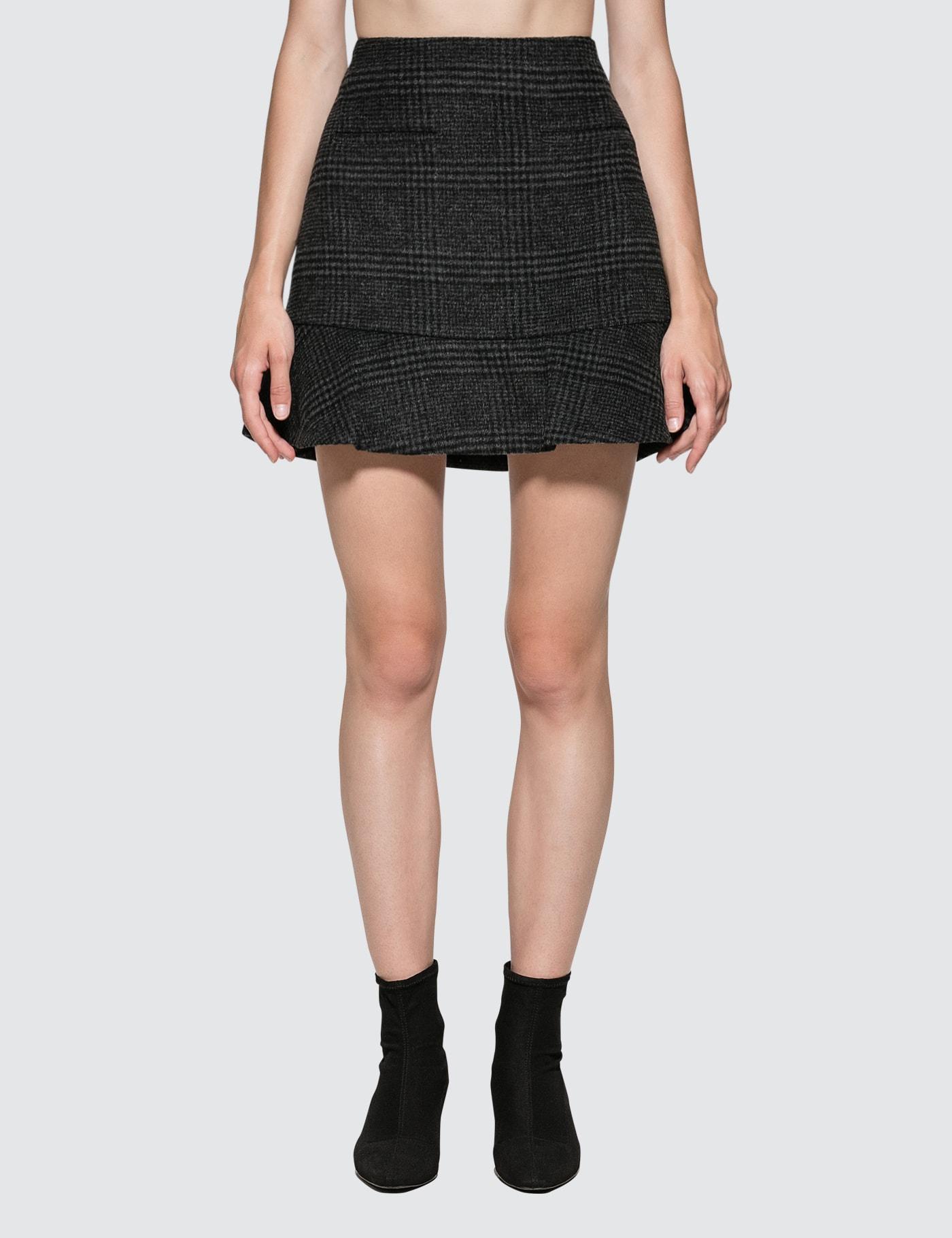 Woodside Plaid Skirt