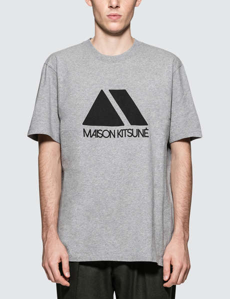 메종 키츠네 Maison Kitsune Triangle S/S T-Shirt