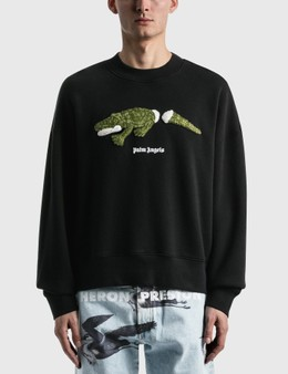 Palm Angels Croco Crew Sweatshirt