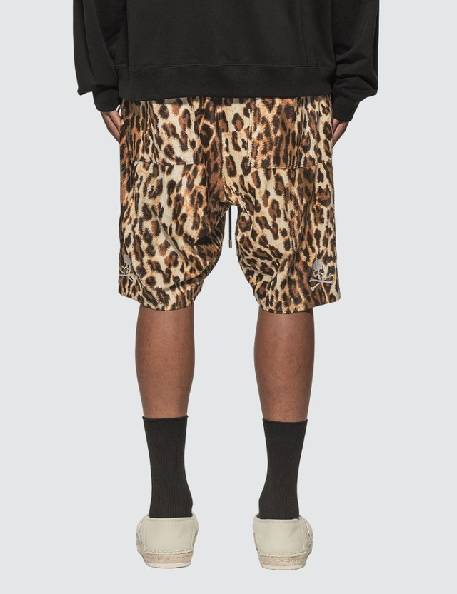 Mastermind World Leopard Shorts