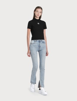 Alexander Wang.T Stovepipe Dipped Back Jeans