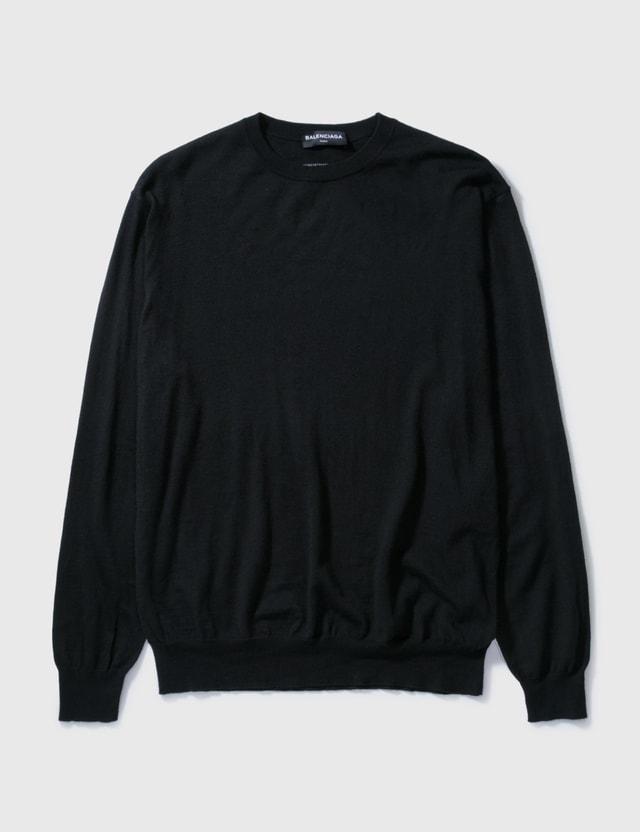 Balenciaga Balenciaga Basic Knitwear Black Archives