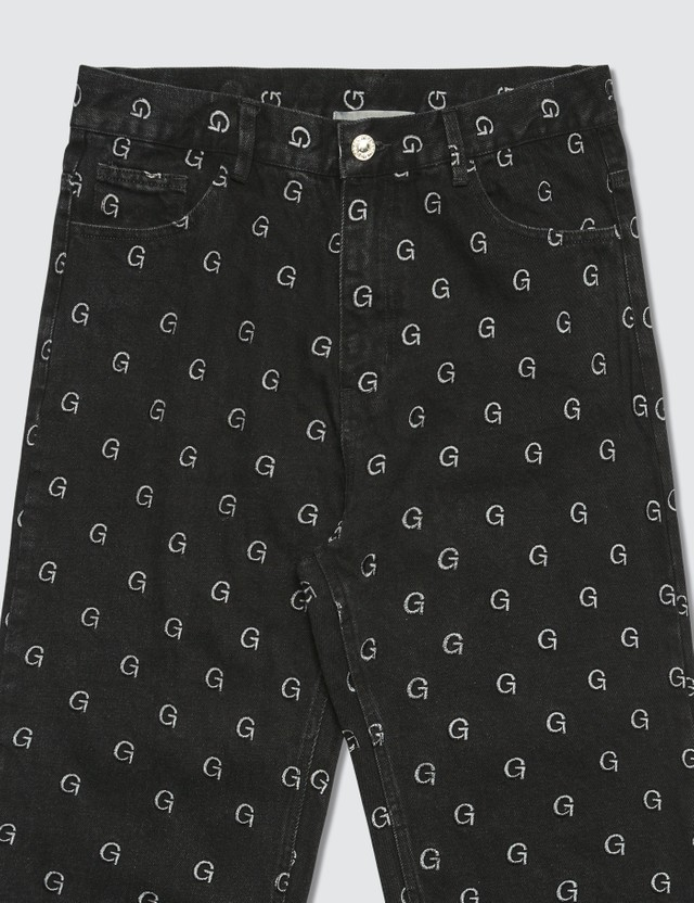 GEO Monogram Denim Pants