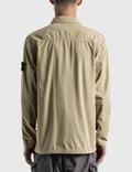 Stone Island Brushed Cotton Canvas Jacket Sand Men