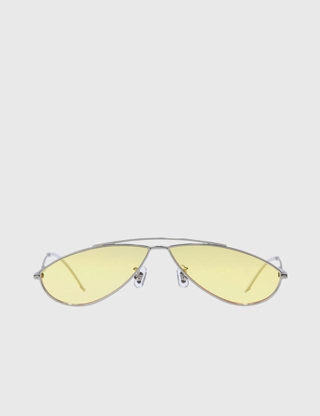 Gentle Monster Kujo Sunglasses Yellow Women