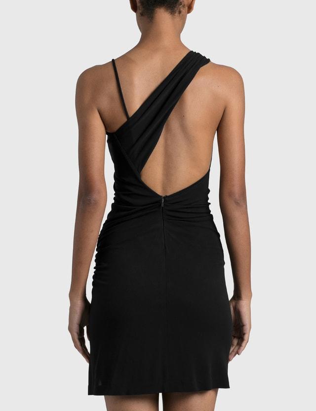 1017 ALYX 9SM Draped Mini Dress Black Women