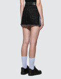 Marcelo Burlon Cross Tape Denim Skirt