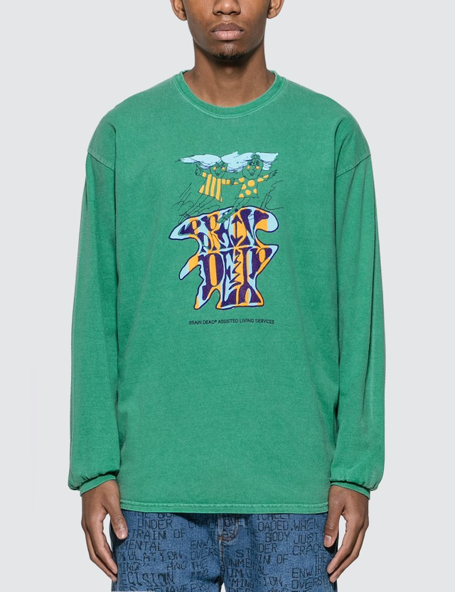 Brain Dead Leon Long Sleeve T-shirt
