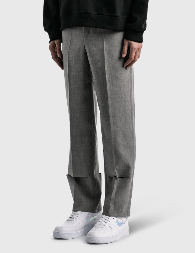 Ader Error Dellne Trousers Grey Men