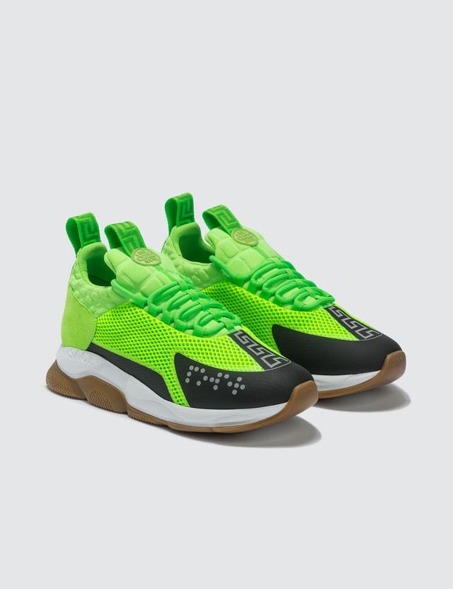 Versace Neoprene Chain Reaction Sneakers