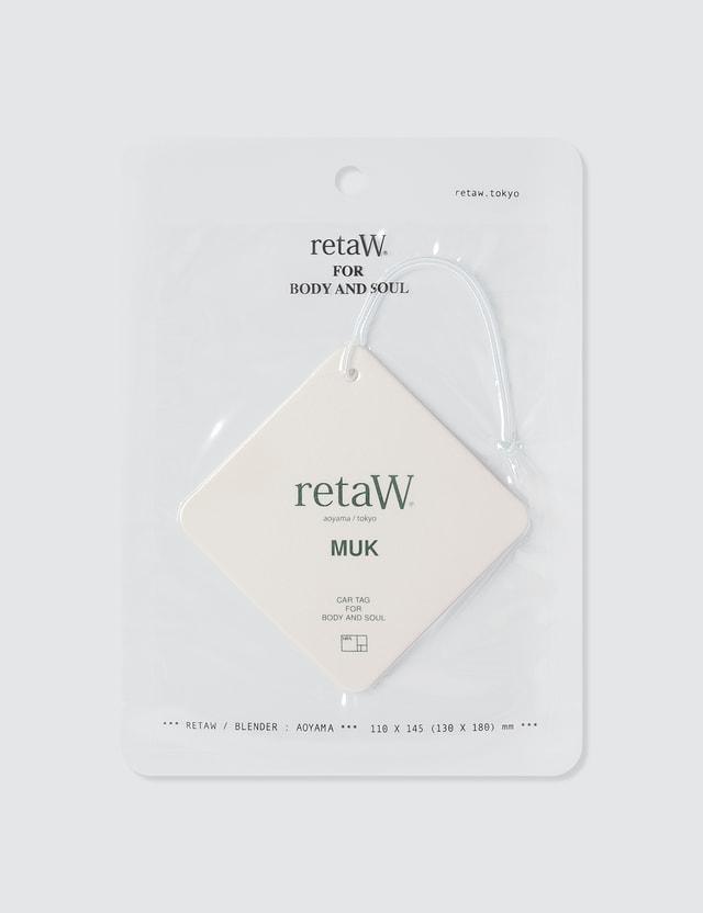 Retaw HBX x retaW Car Tag